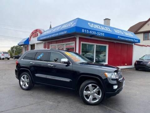 2011 Jeep Grand Cherokee for sale at Gonzalez Auto Sales in Joliet IL