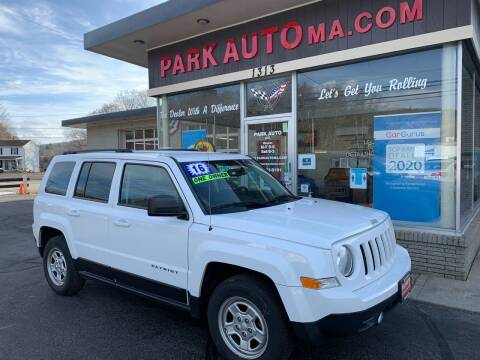 2016 Jeep Patriot for sale at Park Auto LLC in Palmer MA
