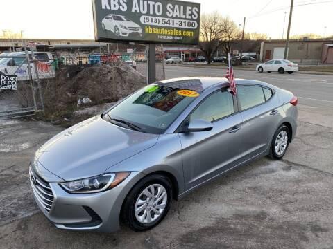 2017 Hyundai Elantra for sale at KBS Auto Sales in Cincinnati OH