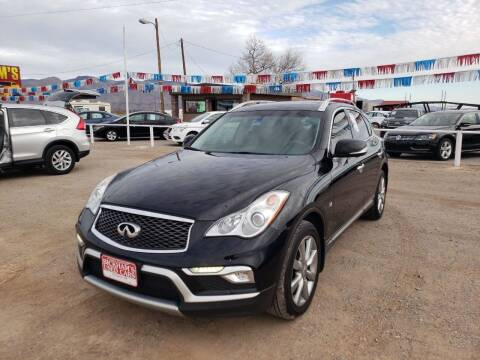 2016 Infiniti QX50 for sale at Bickham Used Cars in Alamogordo NM