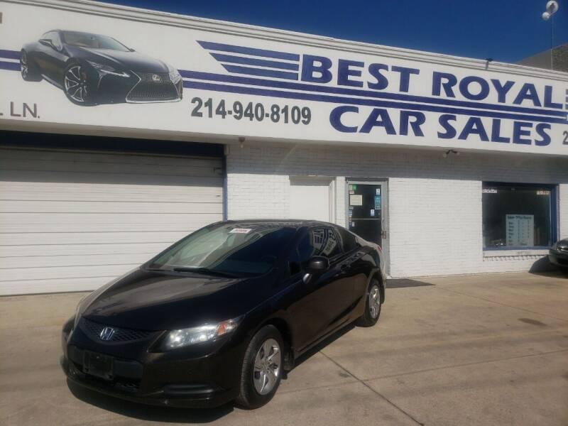 2013 Honda Civic for sale at Best Royal Car Sales in Dallas TX