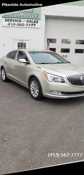 2014 Buick LaCrosse for sale at Pikeside Automotive in Westfield MA