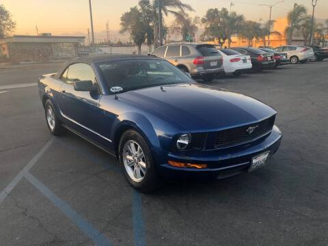 2007 Ford Mustang for sale at AutoHaus in Colton CA