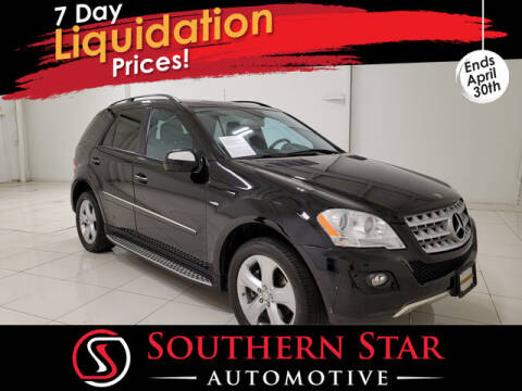 2009 Mercedes-Benz M-Class for sale at Southern Star Automotive, Inc. in Duluth GA