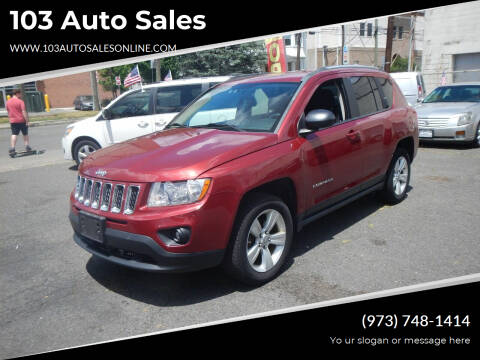 2012 Jeep Compass for sale at 103 Auto Sales in Bloomfield NJ