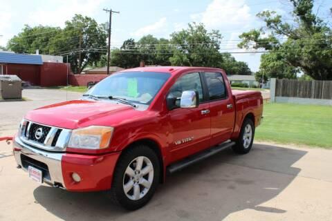 2008 Nissan Titan for sale at KD Motors in Lubbock TX