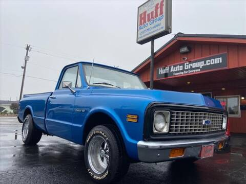 1971 Chevrolet C/K 10 Series for sale at HUFF AUTO GROUP in Jackson MI