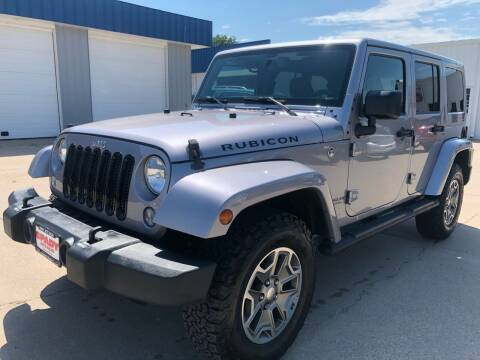 2017 Jeep Wrangler Unlimited for sale at Spady Used Cars in Holdrege NE