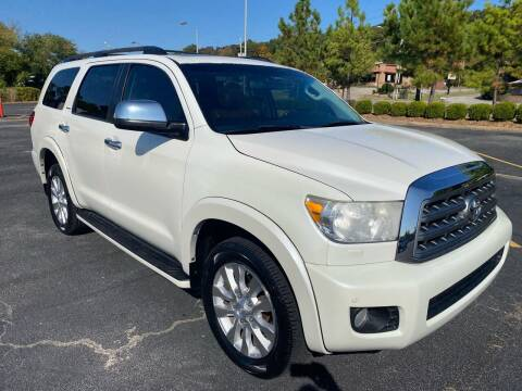 2012 Toyota Sequoia for sale at H & B Auto in Fayetteville AR