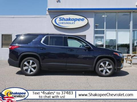 2020 Chevrolet Traverse for sale at SHAKOPEE CHEVROLET in Shakopee MN