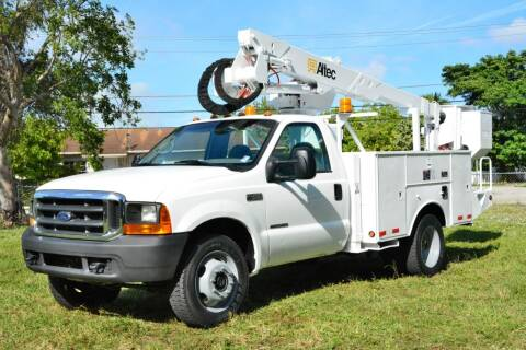 1999 Ford F-450 Super Duty for sale at American Trucks and Equipment in Hollywood FL