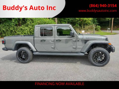 2020 Jeep Gladiator for sale at Buddy's Auto Inc in Pendleton, SC
