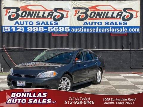 2016 Chevrolet Impala Limited for sale at Bonillas Auto Sales in Austin TX