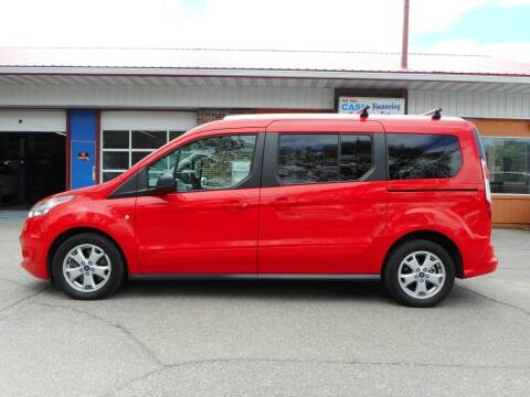 2014 Ford Transit Connect Wagon for sale at Twin City Motors in Grand Forks ND