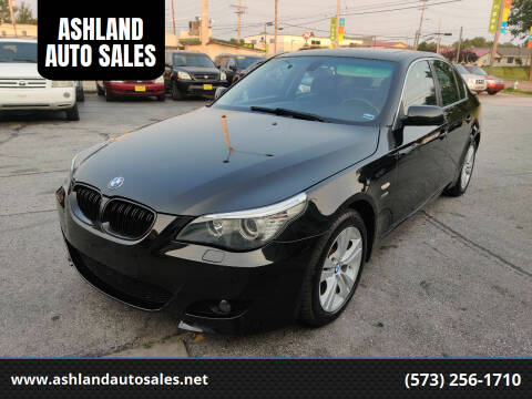 2009 BMW 5 Series for sale at ASHLAND AUTO SALES in Columbia MO