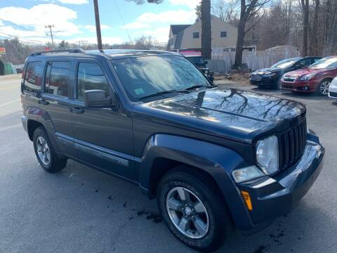 2008 Jeep Liberty for sale at QUINN'S AUTOMOTIVE in Leominster MA