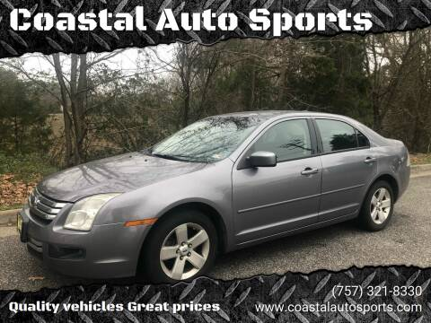 2007 Ford Fusion for sale at Coastal Auto Sports in Chesapeake VA