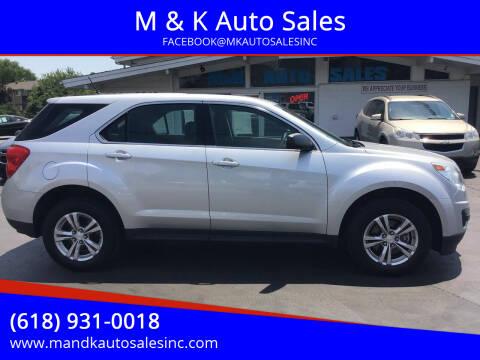 2014 Chevrolet Equinox for sale at M & K Auto Sales in Granite City IL