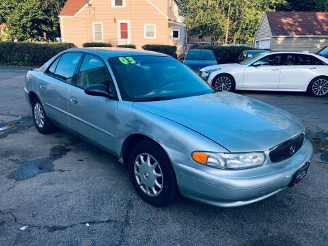 2003 Buick Century for sale at SHEFFIELD MOTORS INC in Kenosha WI