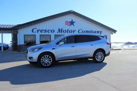 2018 Buick Enclave for sale at Cresco Motor Company in Cresco IA