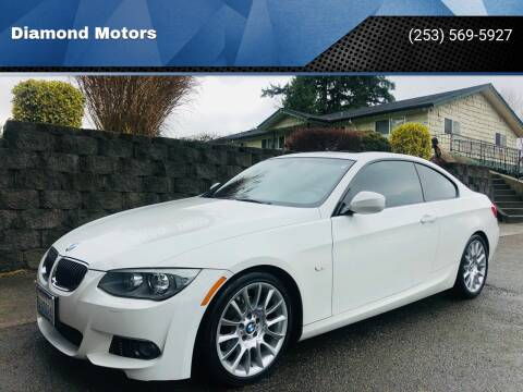 2013 BMW 3 Series for sale at Diamond Motors in Lakewood WA