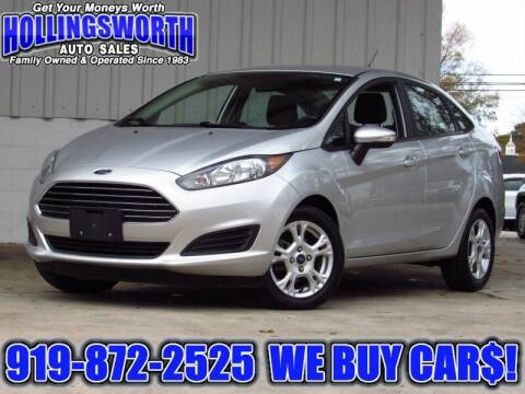 2016 Ford Fiesta for sale at Hollingsworth Auto Sales in Raleigh NC