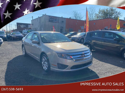 2010 Ford Fusion for sale at Impressive Auto Sales in Philadelphia PA
