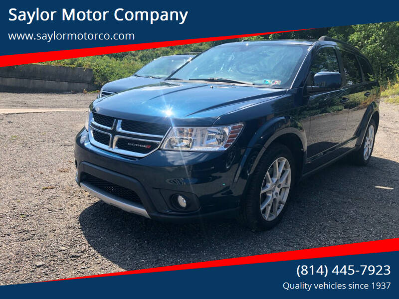 2015 Dodge Journey for sale at Saylor Motor Company in Somerset PA