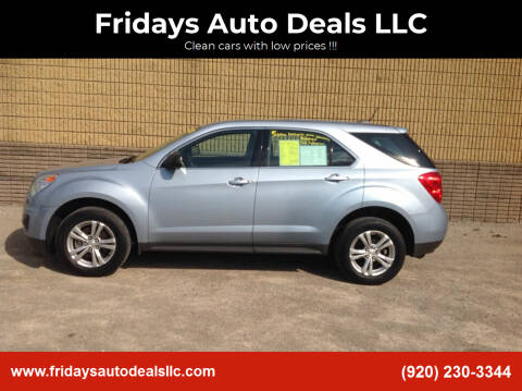 2015 Chevrolet Equinox for sale at Fridays Auto Deals LLC in Oshkosh WI