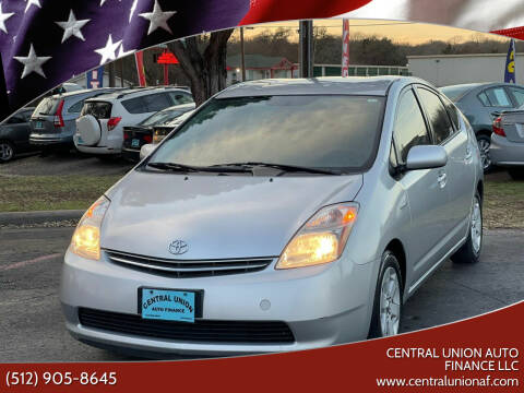 2008 Toyota Prius for sale at Central Union Auto Finance LLC in Austin TX