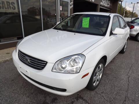 2007 Kia Optima for sale at Arko Auto Sales in Eastlake OH