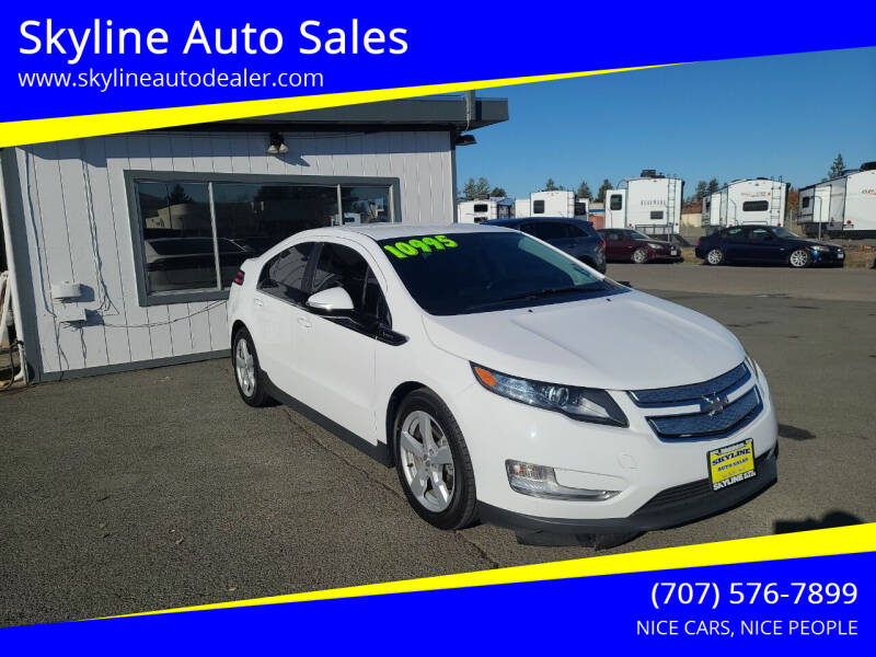 2015 Chevrolet Volt for sale at Skyline Auto Sales in Santa Rosa CA