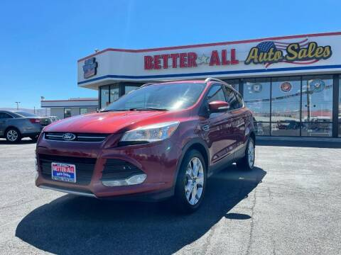 2015 Ford Escape for sale at Better All Auto Sales in Yakima WA