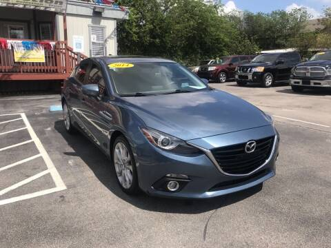 2014 Mazda MAZDA3 for sale at Auto Solution in San Antonio TX