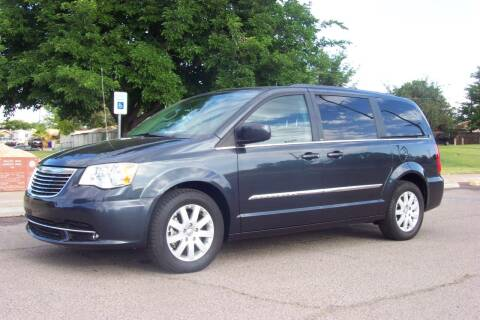 2014 Chrysler Town and Country for sale at Park N Sell Express in Las Cruces NM