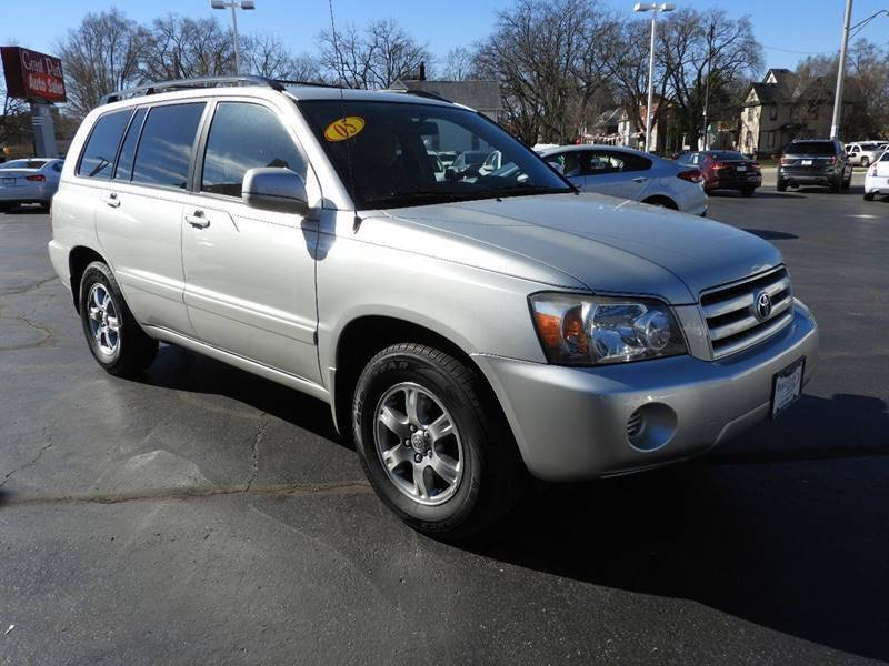 2005 Toyota Highlander for sale at Grant Park Auto Sales in Rockford IL