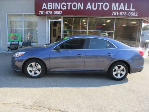 2014 Chevrolet Malibu for sale at Abington Auto Mall LLC in Abington MA