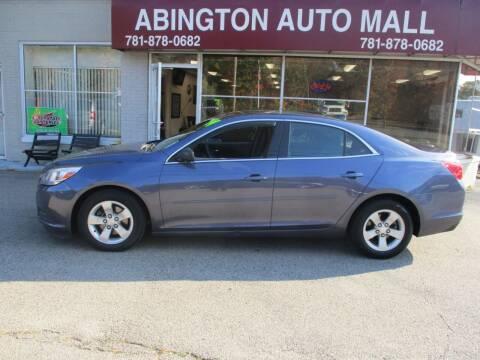 2014 Chevrolet Malibu for sale at Abington Auto Mall LLC in Abington MA