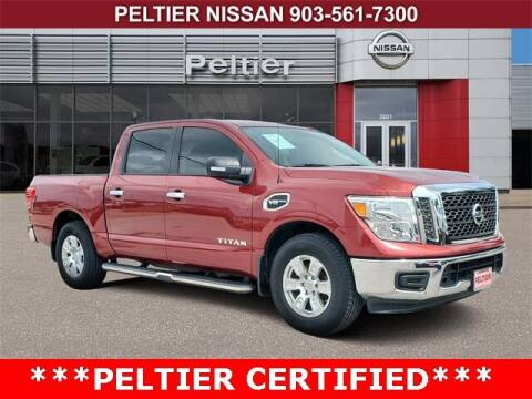 2017 Nissan Titan for sale at TEX TYLER Autos Cars Trucks SUV Sales in Tyler TX