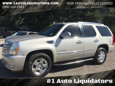 2008 Cadillac Escalade for sale at #1 Auto Liquidators in Yulee FL