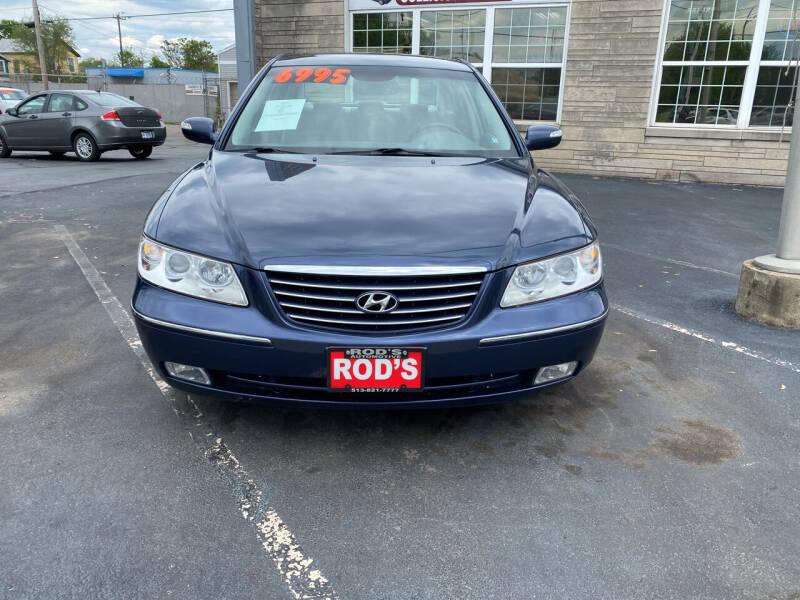 2008 Hyundai Azera for sale at Rod's Automotive in Cincinnati OH