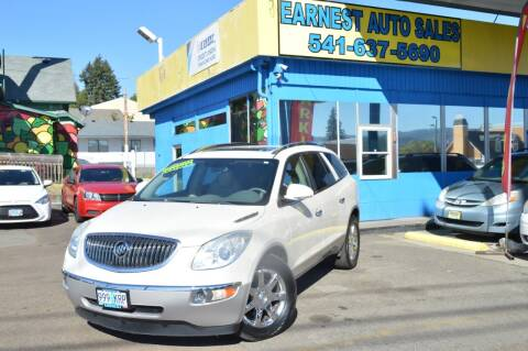 2009 Buick Enclave for sale at Earnest Auto Sales in Roseburg OR