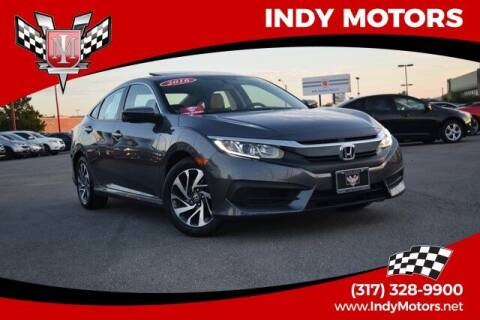 2016 Honda Civic for sale at Indy Motors Inc in Indianapolis IN