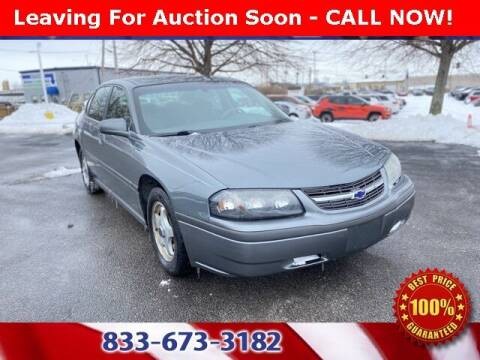 2004 Chevrolet Impala for sale at Glenbrook Dodge Chrysler Jeep Ram and Fiat in Fort Wayne IN