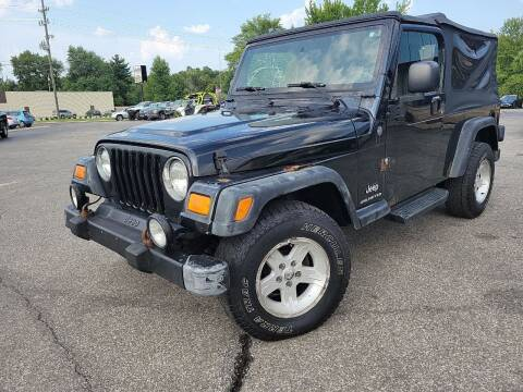 2004 Jeep Wrangler for sale at Cruisin' Auto Sales in Madison IN