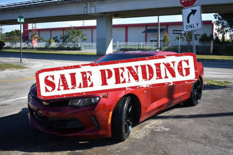 2018 Chevrolet Camaro for sale at ELITE MOTOR CARS OF MIAMI in Miami FL