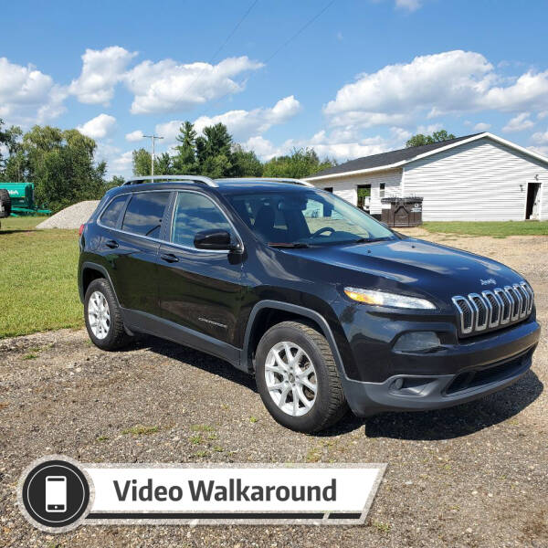 2016 Jeep Cherokee for sale at Simmons off road sales LLC in Saint Johns MI