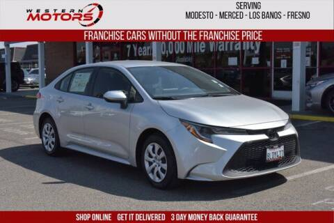 2020 Toyota Corolla for sale at Choice Motors in Merced CA