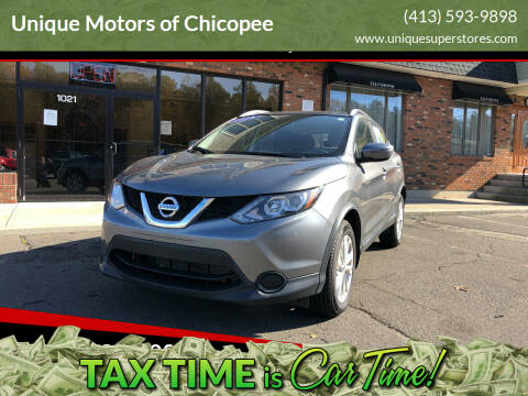 2018 Nissan Rogue Sport for sale at Unique Motors of Chicopee in Chicopee MA