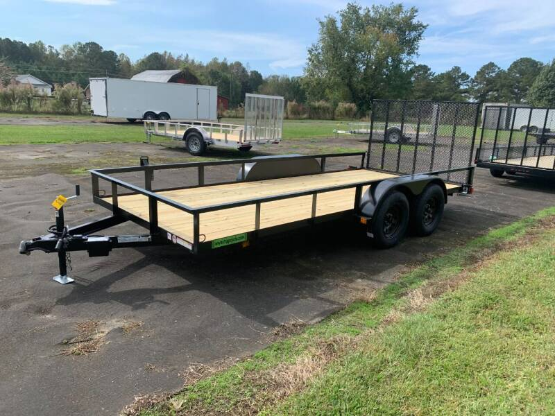 2021 New Triple Crown 6.4x16 UT Landscaper Trailer for sale at Tripp Auto & Cycle Sales Inc in Grimesland NC